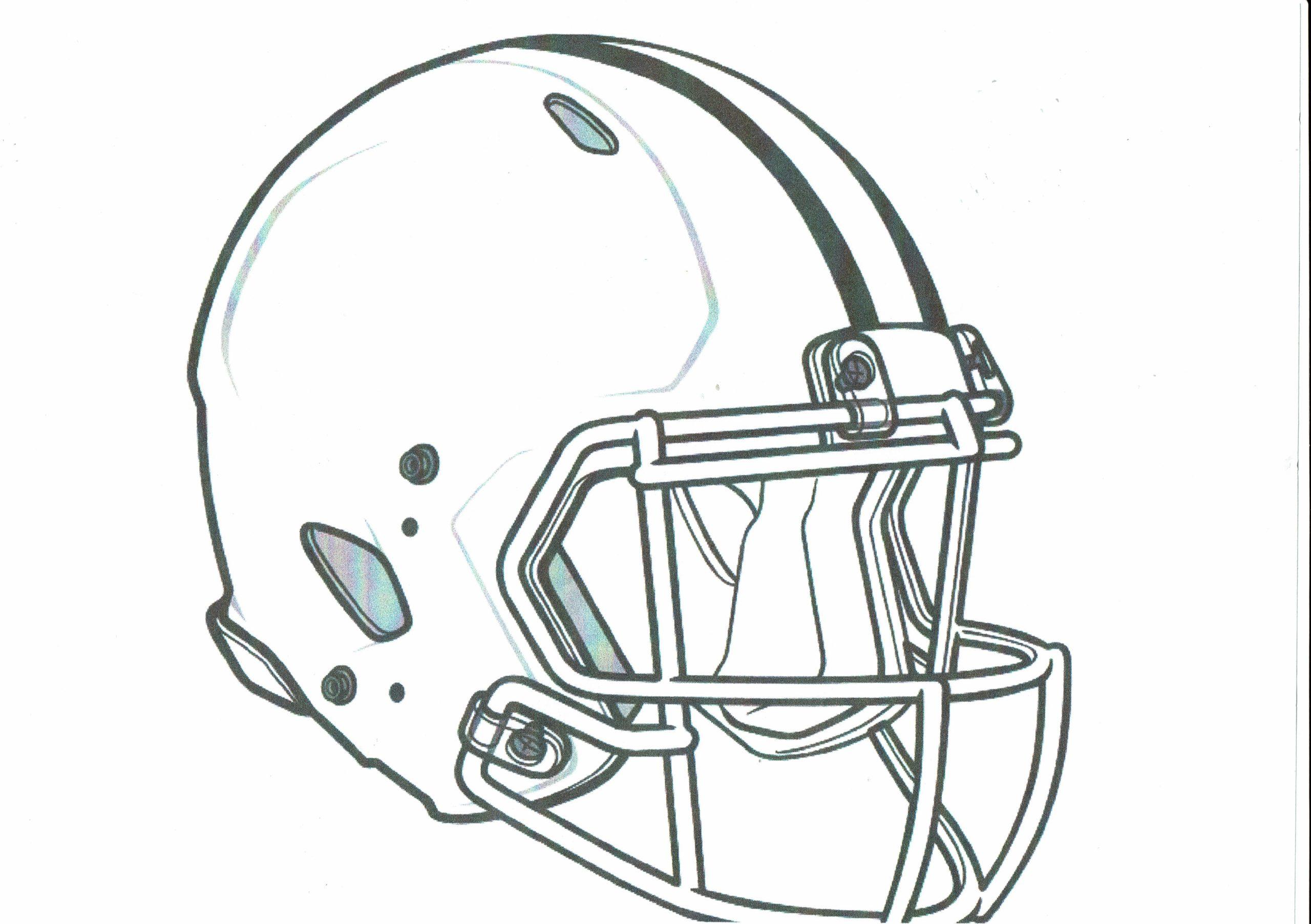 Ausmalvorlage – Helm