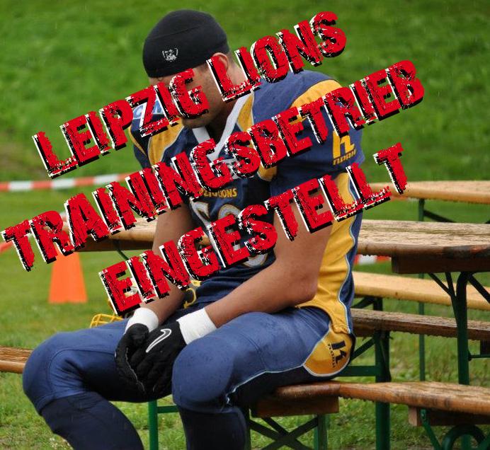 Trainingsbetrieb eingestellt