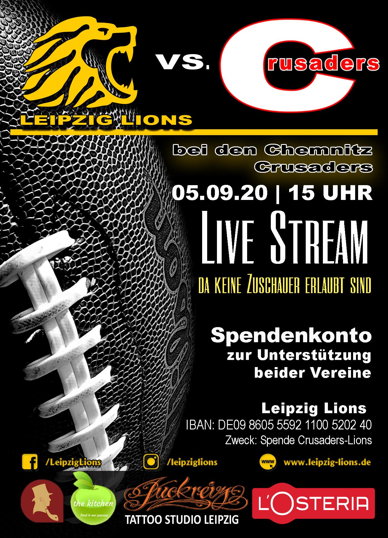 FYLER_LL_2020 Live Stream Chemnitz vs. Leipzig Lions